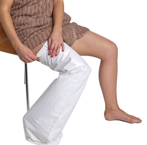 Leg Cast Shower Protector by M Waterproof Leg Cast Cover Shower Protector Thigh