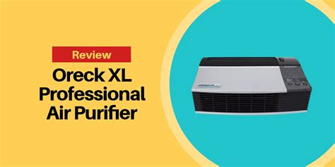 oreck xl professional air purifier review hovement