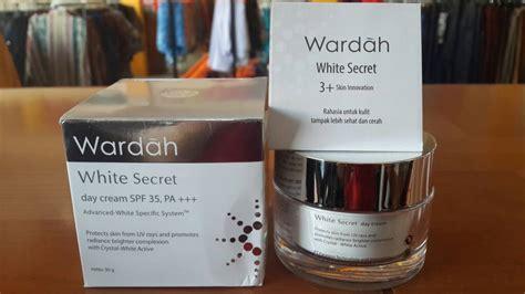 Harga Wardah White Secret Kemasan 17ml cari tahu review dan harga pelembab wardah buat wajah