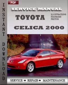toyota celica 2000 engine service guide