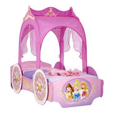 lit carrosse 90x190 cm disney princesses vente de lit