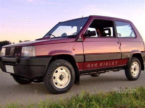 interni panda 4x4 sisley fiat panda 4x4 auto e moto d epoca storiche e moderne