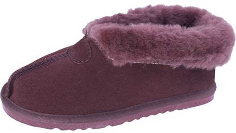 thick sole slippers thick wool cuff sheepskin slippers with