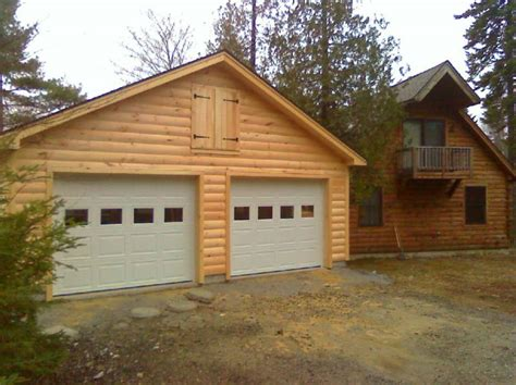 log cabin garage high quality log garages 9 log cabin with garage neiltortorella com