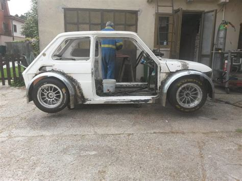 citroen hy fiat 500 abarth race car