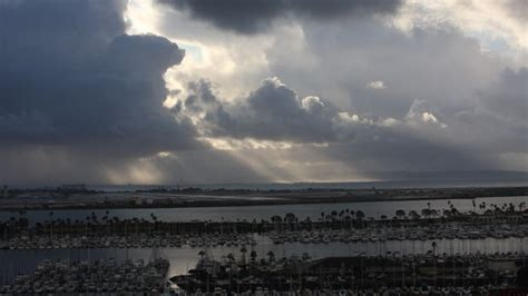 heavy rain and elevated surf expected for san diego county