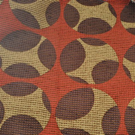 Retro Fabric Upholstery by Vintage Upholstery Fabric Geometric Gold By Jemmdeesattic