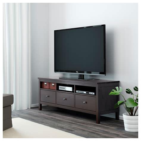 Banc Tv Hemnes by Hemnes Banc Tv Brun Noir 148x47 Cm Ikea