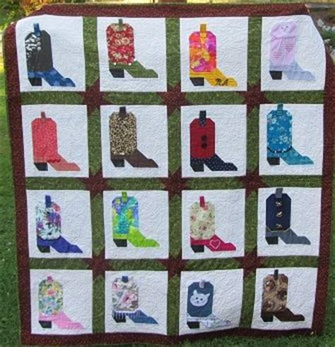 Cowboy Boot Quilt Pattern by 17 Best Images About Cowboy Quilts On Babies