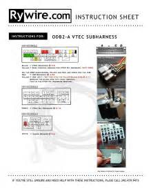 obd2 vtec wiring diagram efcaviation