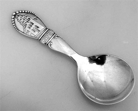 spoon house tea caddy spoon house of the holy ghost n 230 vsted 826 silver from berrycom com on ruby lane