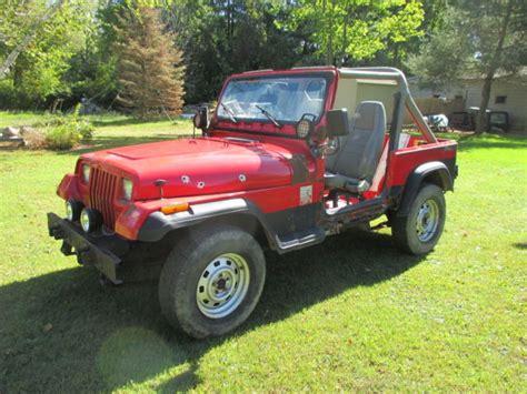 1991 jeep wrangler yj 1991 jeep wrangler yj 2 5 4 cylinder manual trans 89 90 92