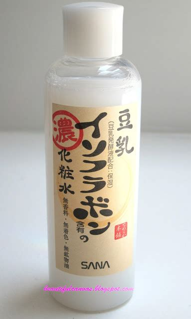 Sana Soy Milk Light Toner 200ml beautiful canvas july 2011