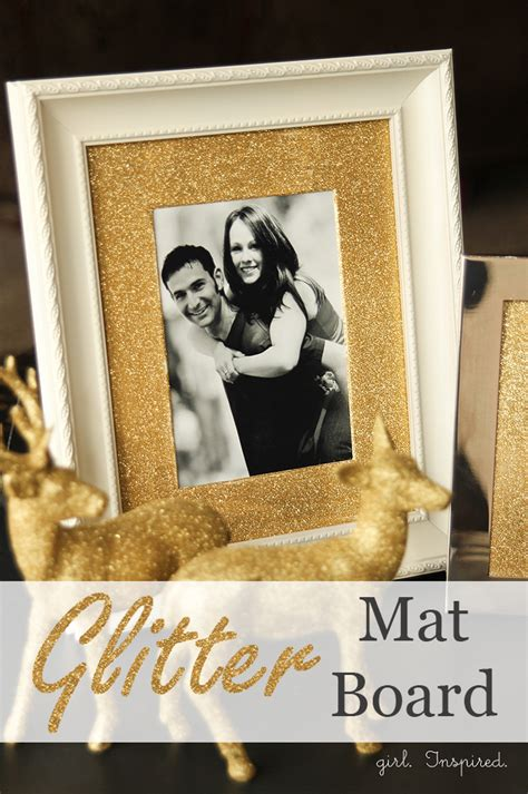 diy picture frame matting colors glitter mat board for picture frames girl inspired