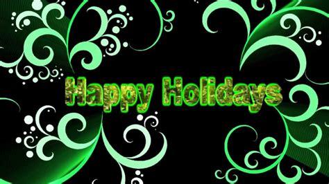 background video animation happy holidays youtube