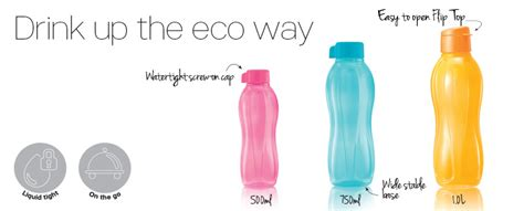 Tupperware Eco Bottle 750ml tupperware brands simply living solutions