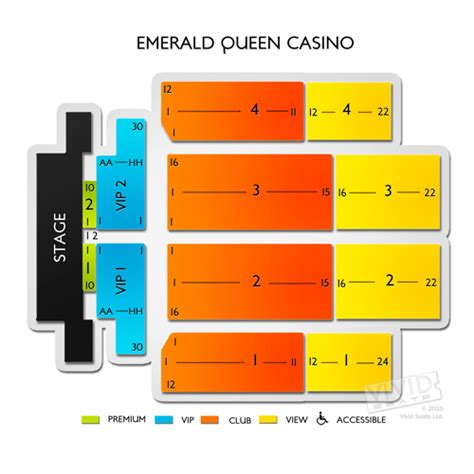 emerald casino seating chart emerald casino seating chart seats