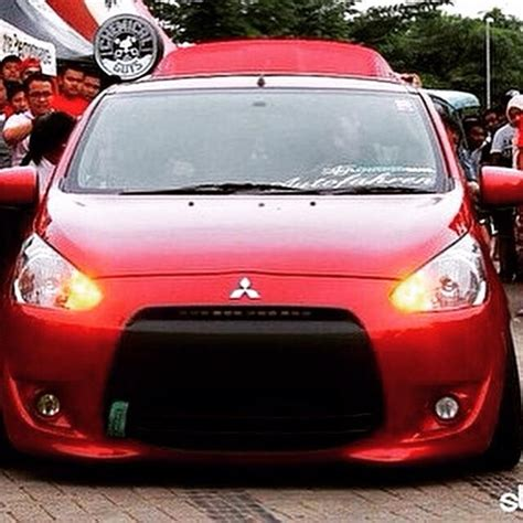 mitsubishi mirage hatchback modified best looking mirage i ve seen looks awesome with the