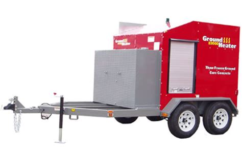 ground thaw portable heater fdl rental