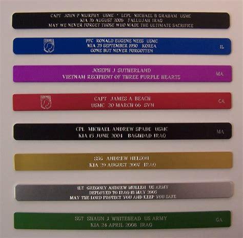 Kia Bracelet Random Name Commemorative Kia Bracelets