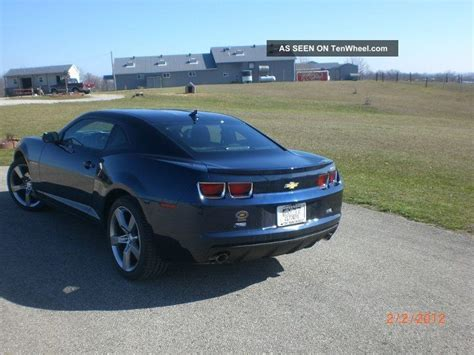 2012 Camaro 2lt by 2012 Chevy Camaro 2lt V6 Rs Package Metallic Imperial Blue