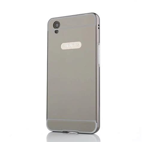mirror back cover for oppo a37 aluminum metal frame set phone cases for oppo a37 buy