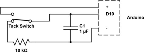 capacitor circuit switch switches is it possible to use just a capacitor to debounce a button electrical engineering