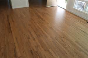 How Do You Remove Stains From Hardwood Floors - red oak hardwood floor stained portland hardwoods
