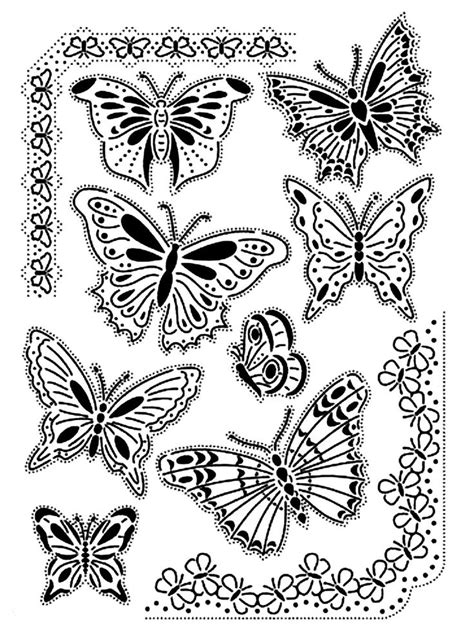 coloring page coloring adult difficult butterflies