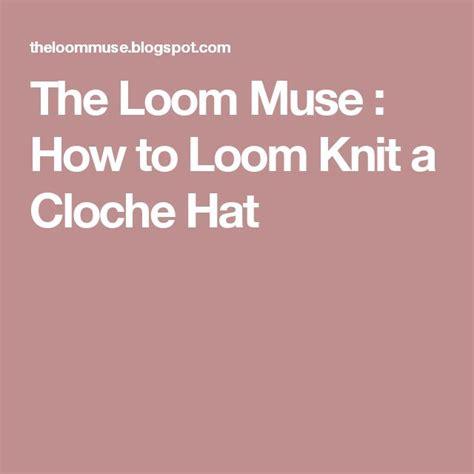 how to loom knit a hat best 20 loom crochet ideas on