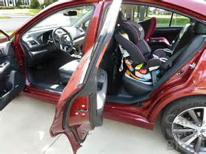3 Carseats In Subaru Outback Carseatblog The Most Trusted Source For Car Seat Reviews