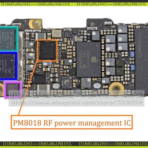 Ic Rf Iphone 5s original new pm8018 rf power management ic chip for iphone