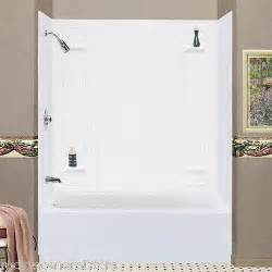 seamless bathtub surrounds surround granite tiled bathtub shower wall enclosure 3