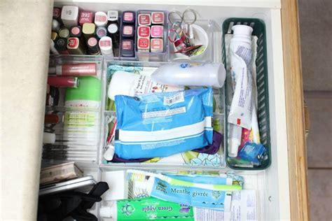 organizing bathroom drawers bathroom drawer organization