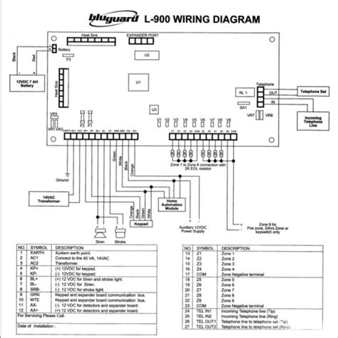 wiring diagram for home security system wiring diagram