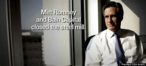 Bain Capital Post Mba by Pro Obama Pac Hits Mitt Romney Bain Capital Years Again
