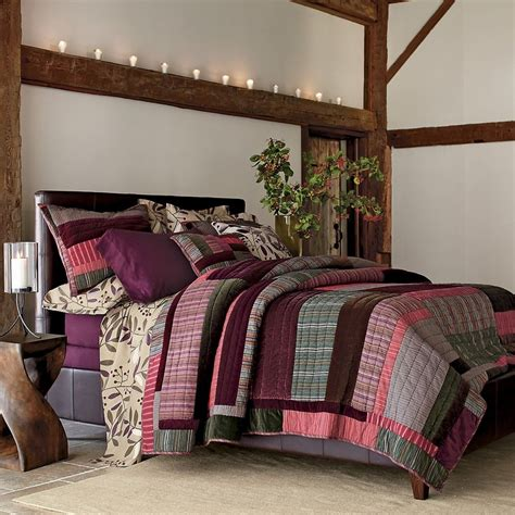 the bedroom superstore the company store winterberry quilt color inspiration