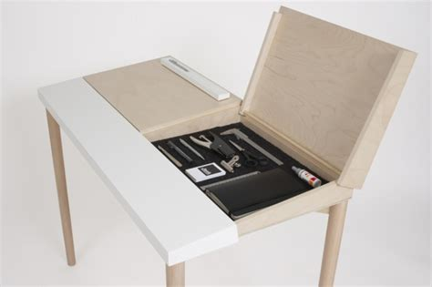 design desk effective desk design with hidden storage slope desk