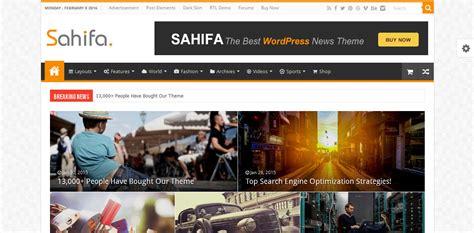 sahifa theme alternative 50 best wordpress magazine themes 2018 designorbital