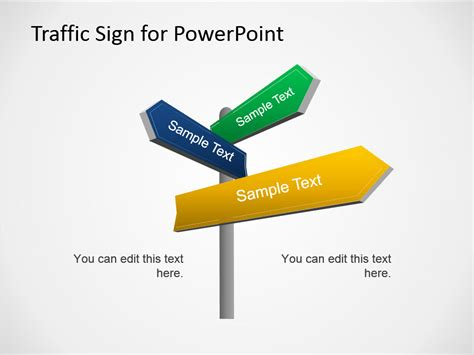 traffic sign template free traffic signs powerpoint template