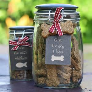 hand baked dog biscuits in storage jar by the wedding of my dreams notonthehighstreet com