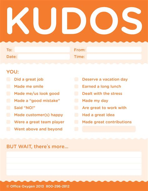kudo cards templates kudos notes set of 40 pads
