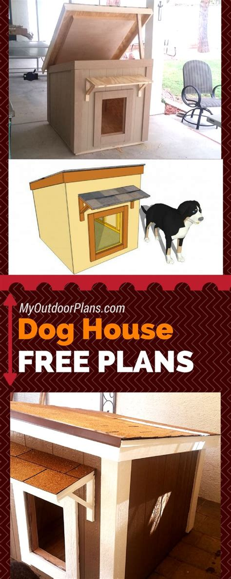dog house instructions free plans for you to build a large dog house step by
