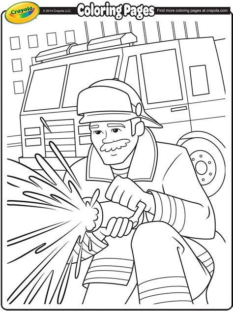 thank you firefighters coloring page thank you firefighters page coloring pages