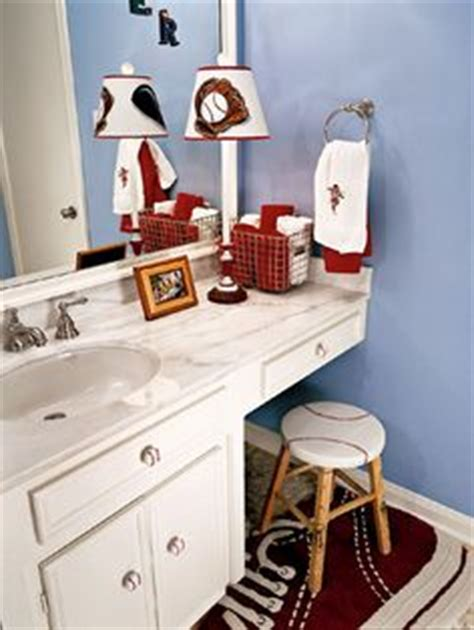bathroom sports decor 1000 images about boys bathroom diy makeover on pinterest