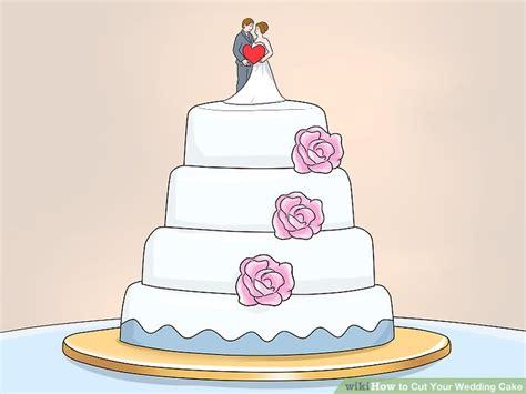 Wedding Cake Decorating Step By Step 3 ways to cut your wedding cake wikihow