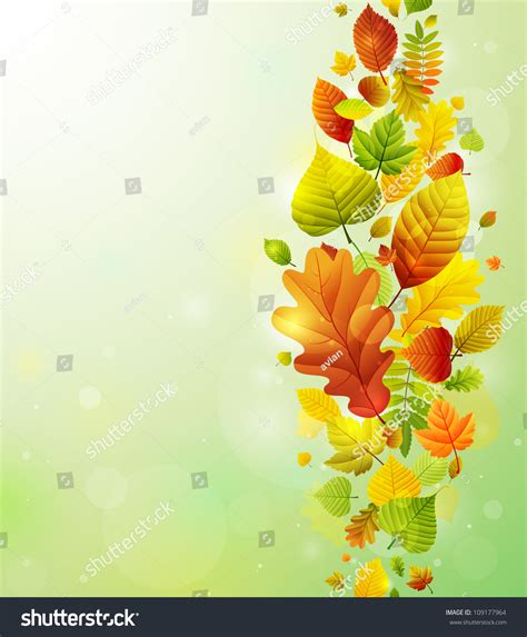 Check My Background Autumn Background With Colorful Leaves Check My Portfolio