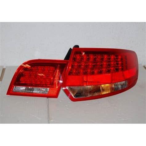 audi a3 sportback led tail lights set of rear tail lights audi a3 sportback 04 08 led red