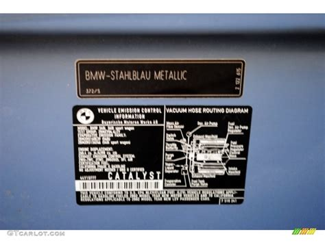 bmw color codes 2001 bmw x5 paint codes