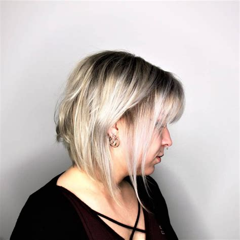 messy inverted bob hairstyle pictures 41 perfect short hairstyles for fine hair 2018 trends